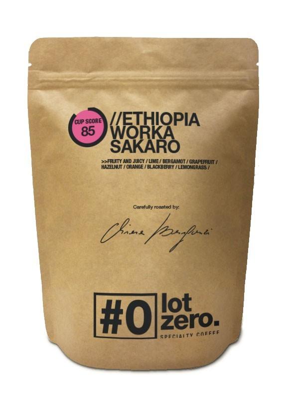 ETHIOPIA   WORKA SAKARO - Specialty Whole Beans (250gr)