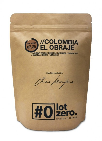 COLOMBIA EL OBRAJE - Specialty Whole Beans (250gr)